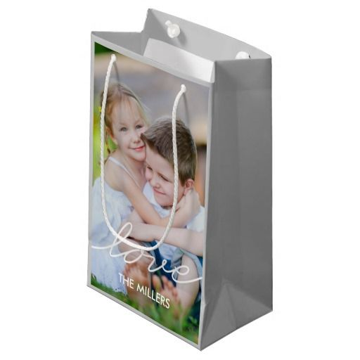 Love Writing Custom Gift Bags Zazzle Wring