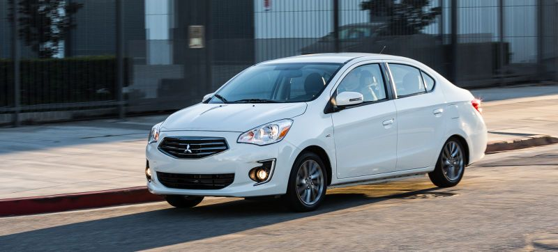Consumer Reports Worst Cars Of 2017 List Is Brutal And Accurate Mitsubishi Mirage Mitsubishi New Cars