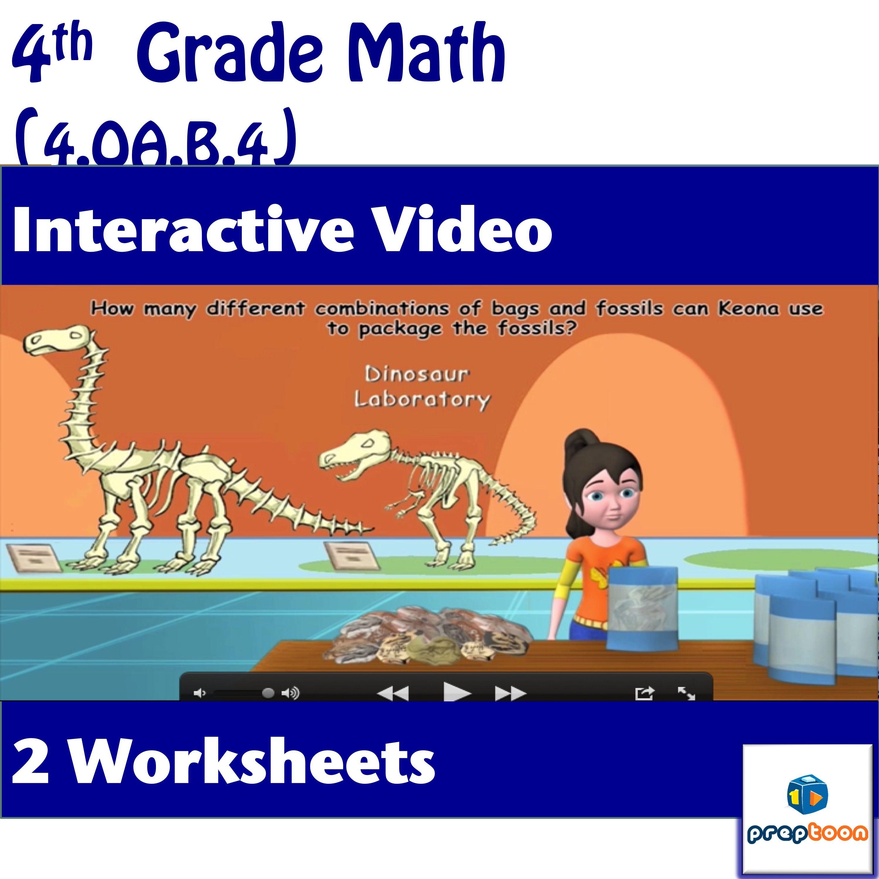 Common Core Math Activity Prime Vs Composite Numbers 4 Oa