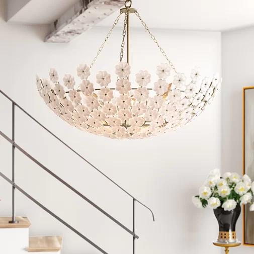 Lamps Plus Gold Pendant Light
