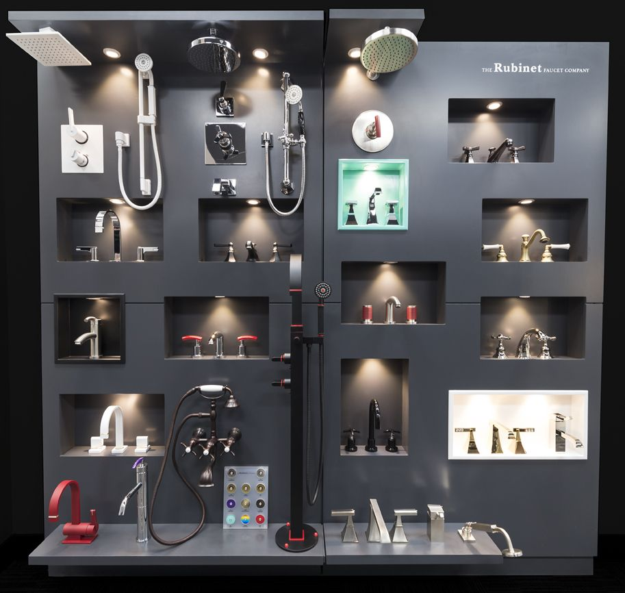 Rubinet Display   Bathroom showrooms, Retail design ...