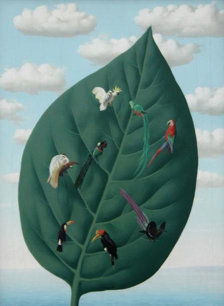 arsvitaest:    René Magritte (1898-1967), Die dritte dimension, 1942