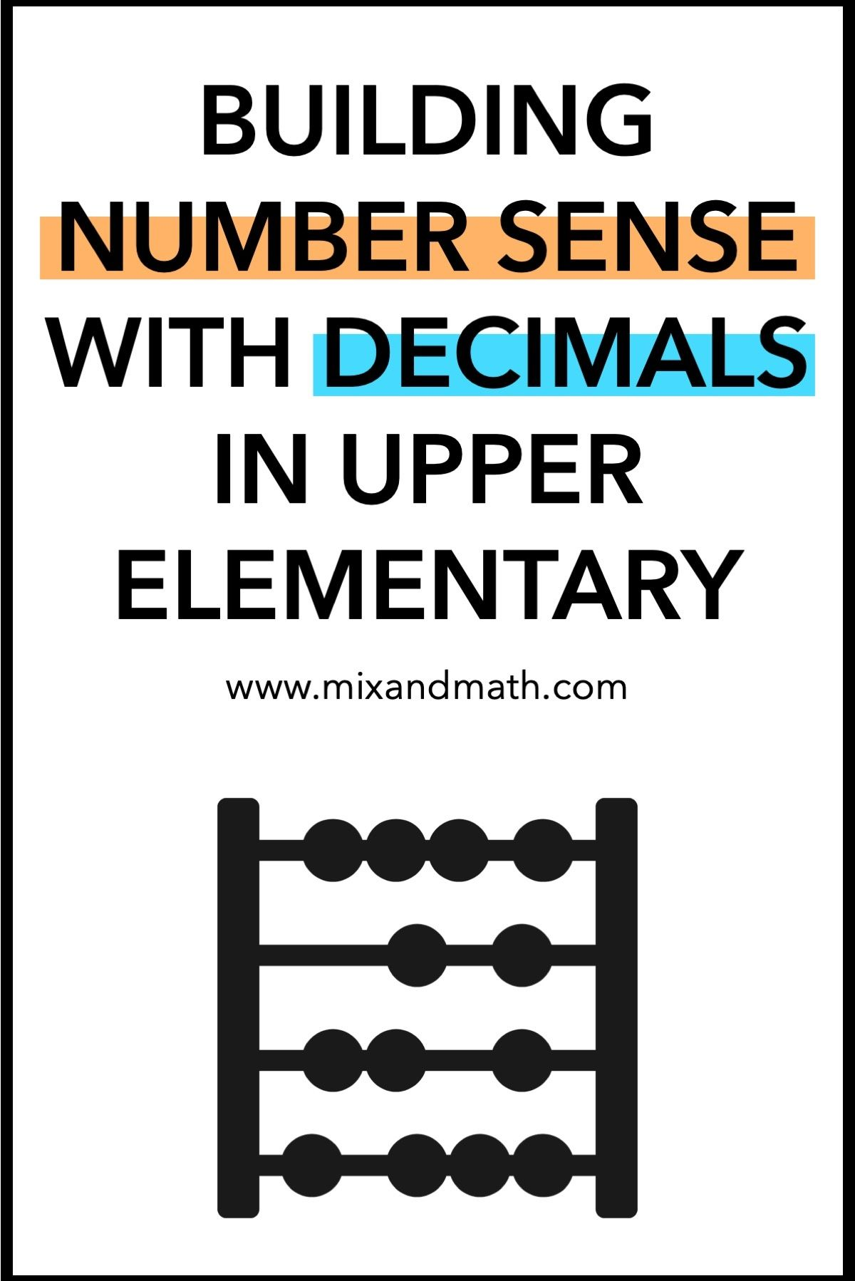 Ideas And Strategies For Building Students Number Sense