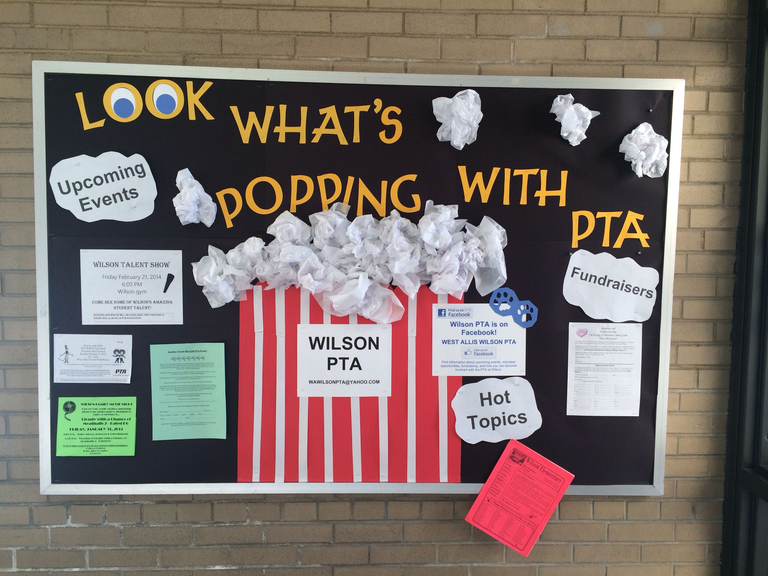 Pta Bulletin Board We Need Something Like This In The Office Or