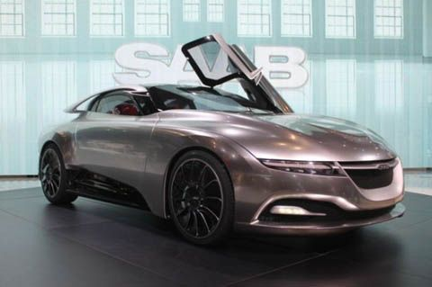 Saab Phoenix Concept Car Could Be Basis For Future Electric To Sold In China