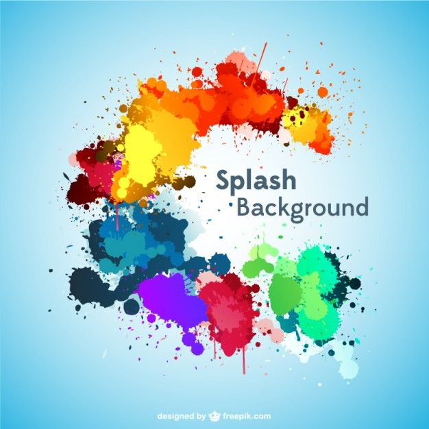 I Have Downloaded This Free Vector On Freepik Com Paint Splash Background Paint Splash Backgrounds Free