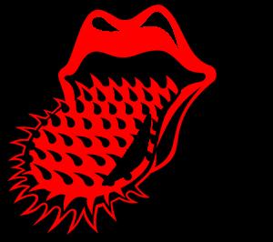 Pin By Rhonda Phelps On Tounge Me Rolling Stones Lip Wallpaper Vector Logo