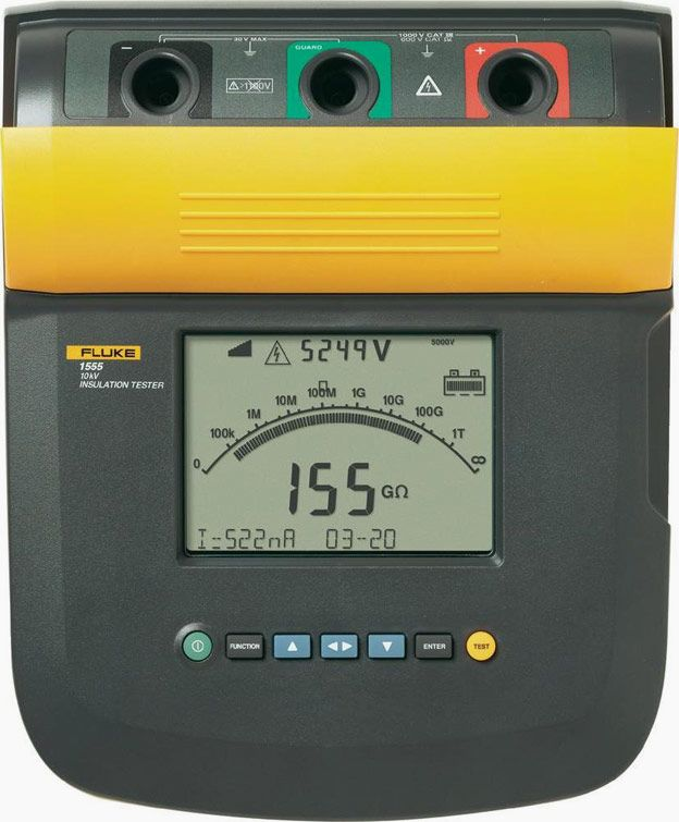 Measurement Of Insulation Resistance Ir Part 2 Eep Insulation Power Engineering Preventive Maintenance