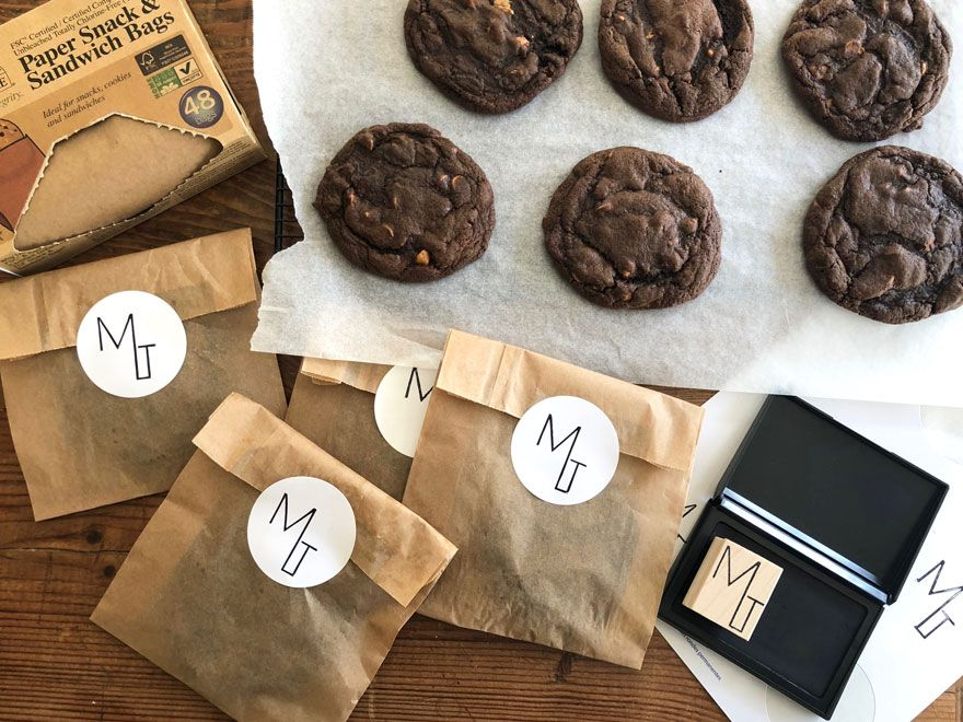 Copycat Levain Dark Chocolate Peanut Butter Cookies   Most Lovely Things