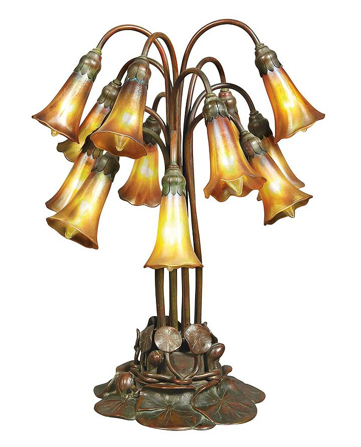 tiffany table lamps best prices sale uk studios light lily lamp lot qvc