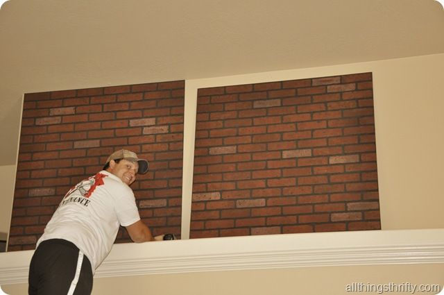 Great How To Install Faux Brick Panels And Where To Buy Them! Plus Tips And Tricks