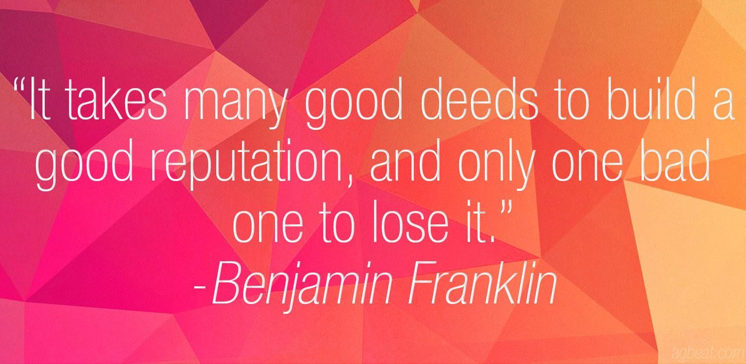 Build And Protect Your Name Online With Images Ben Franklin Quotes Inspirational Quotes Words