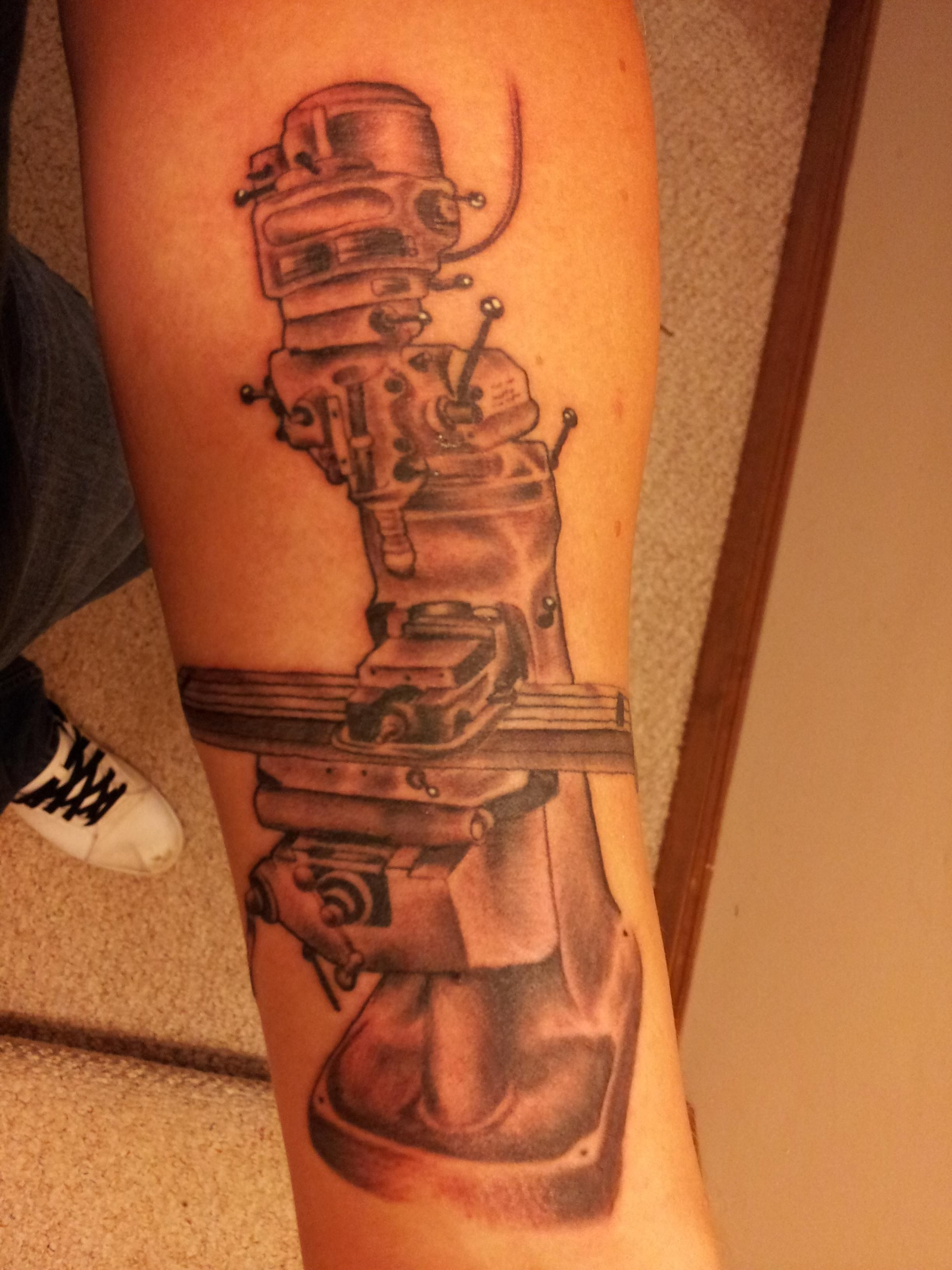 Welding Related Tattoos