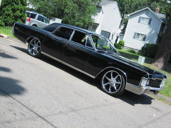 1969 Lincoln Continental Last Year The Continental Had Suicide