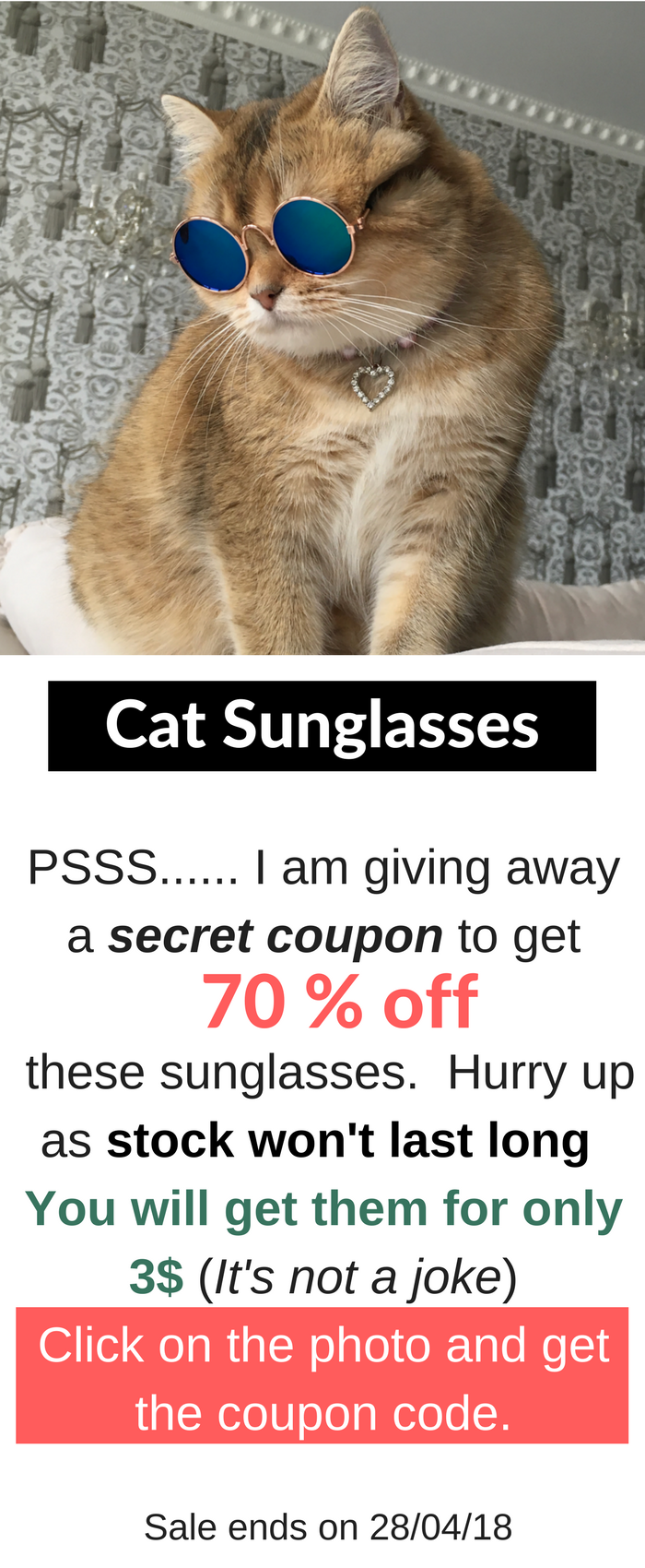 47aeb04159d06 ONLY TODAY! Get the coupon code to buy the glasses only for 3 ...