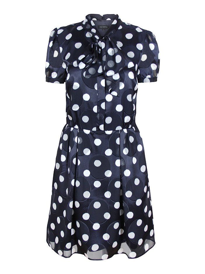 Pink Tartan - Polka Dot Tie Dress   WHAT TO WEAR TO THE RACES ...