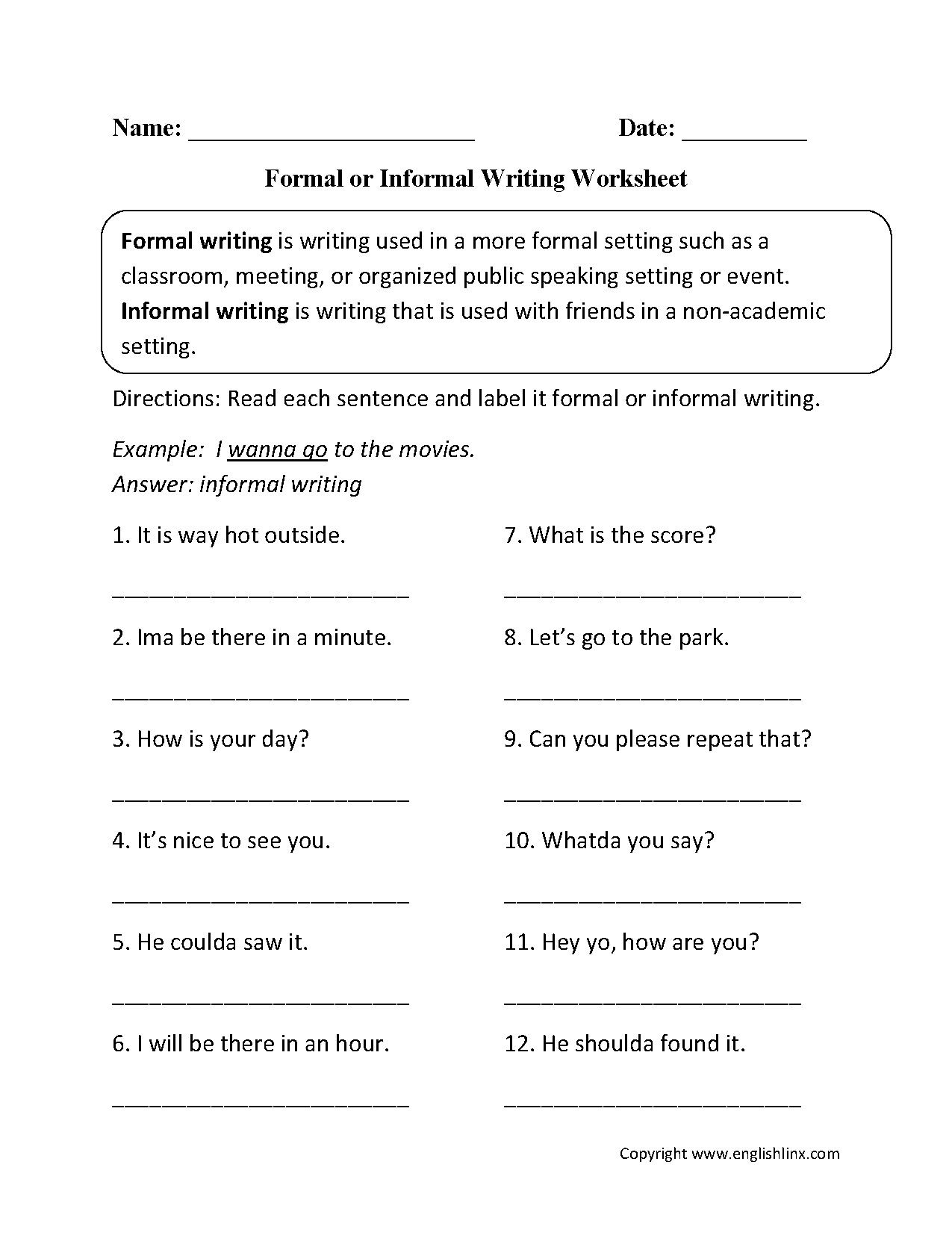 Inspiring Grammar Review Worksheets
