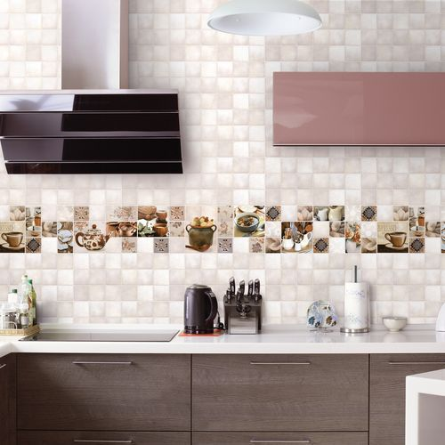 Tiles Design for Wet Kitchen Wall Ideas