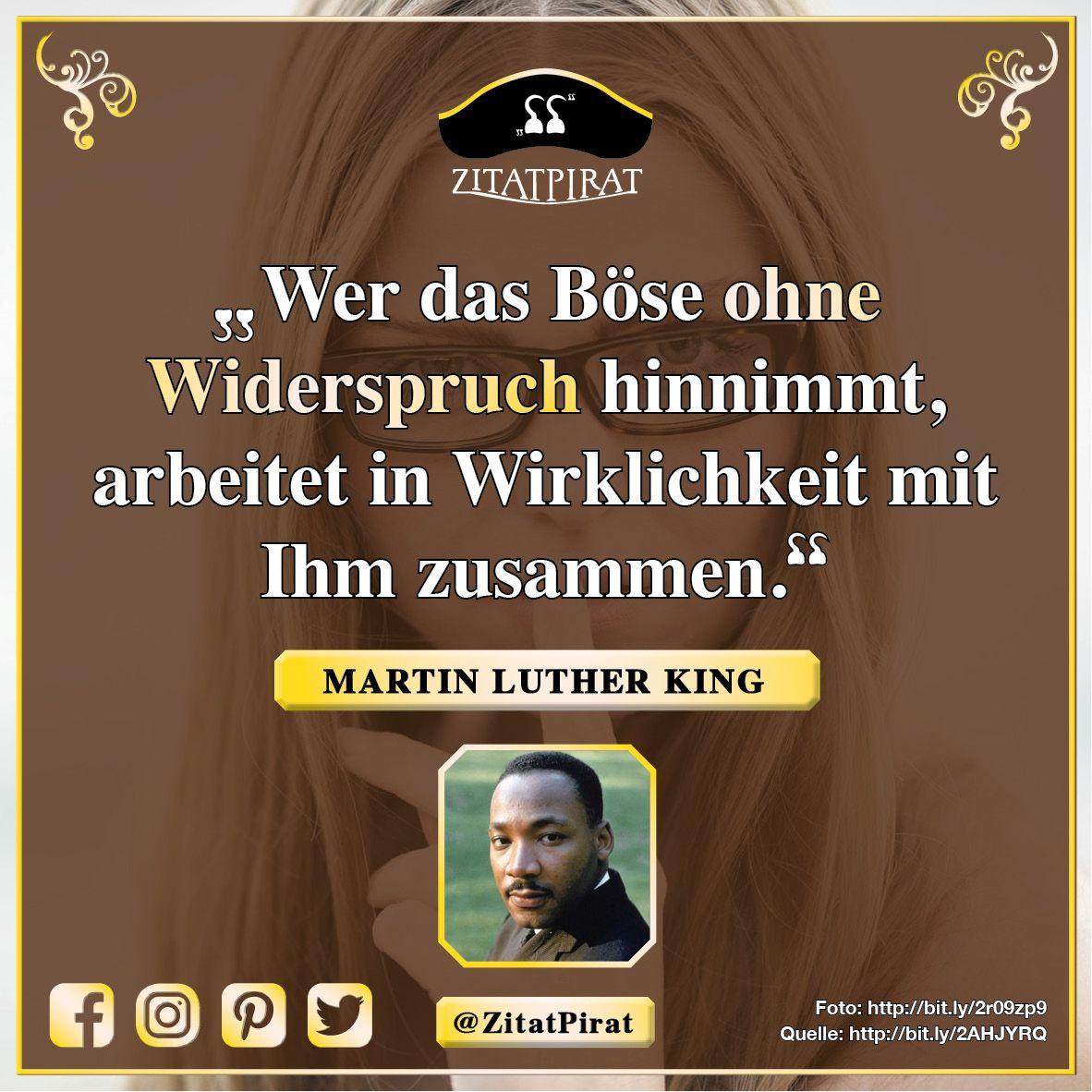 Martin Luther King Zitatpirat Zitate Zum Denken Handeln
