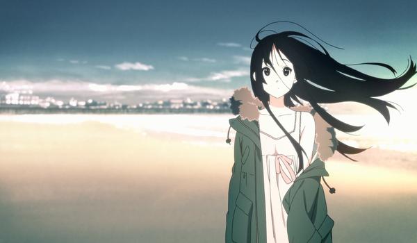 Anime Wind Hair Anime Anime Background Aesthetic Anime