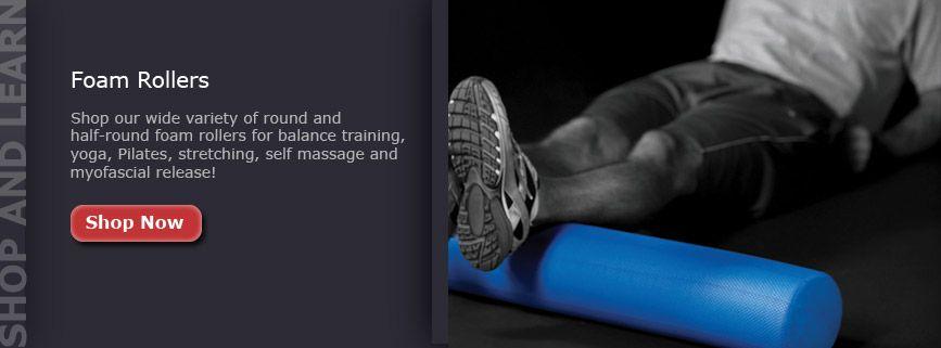 Foam roller a great way to break down scar tissue within