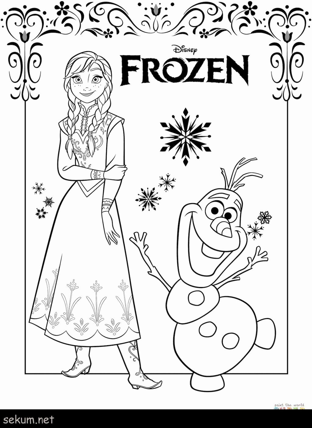 Free Frozen Coloring Sheets Elsa Coloring Pages Frozen Coloring