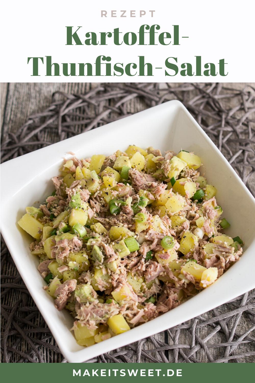 Kartoffel-Thunfisch-Salat mit Avocado Rezept - MakeItSweet.de