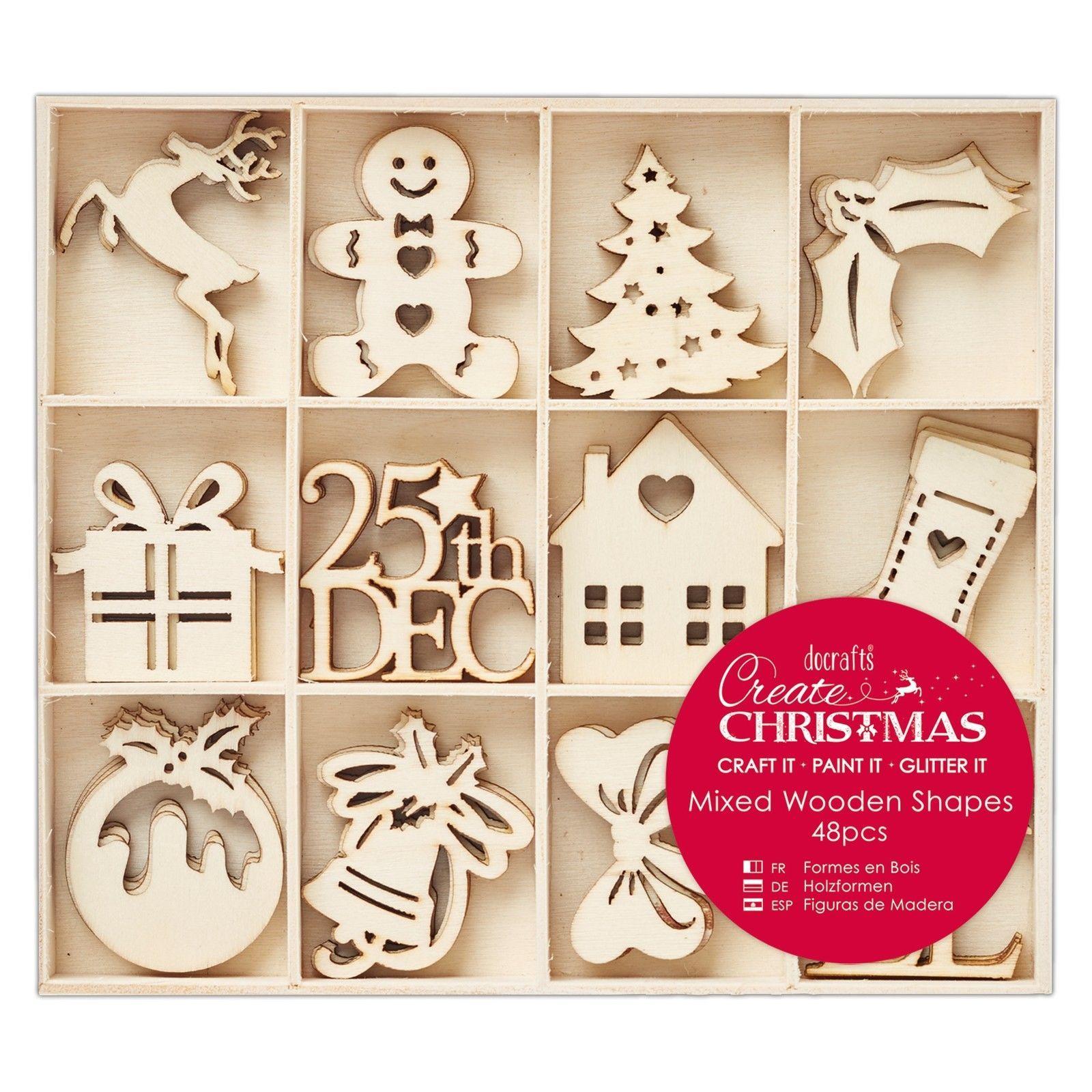 48 Holz Anh Nger Christmas Lebkuchenmann Christbaum Baum Weihnachtsbaumschmuck Christmas