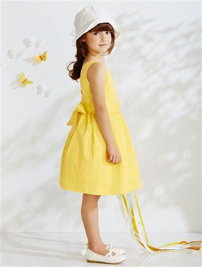 Robe jaune vertbaudet