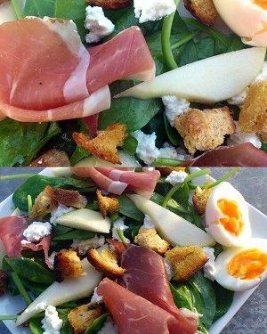 Salade parmaham spinazie Nina-dp