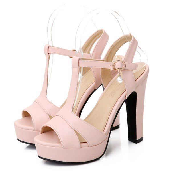 free shipping find great how much for sale T Bar Platform Sandals - Pink 39 NASOA3Ld