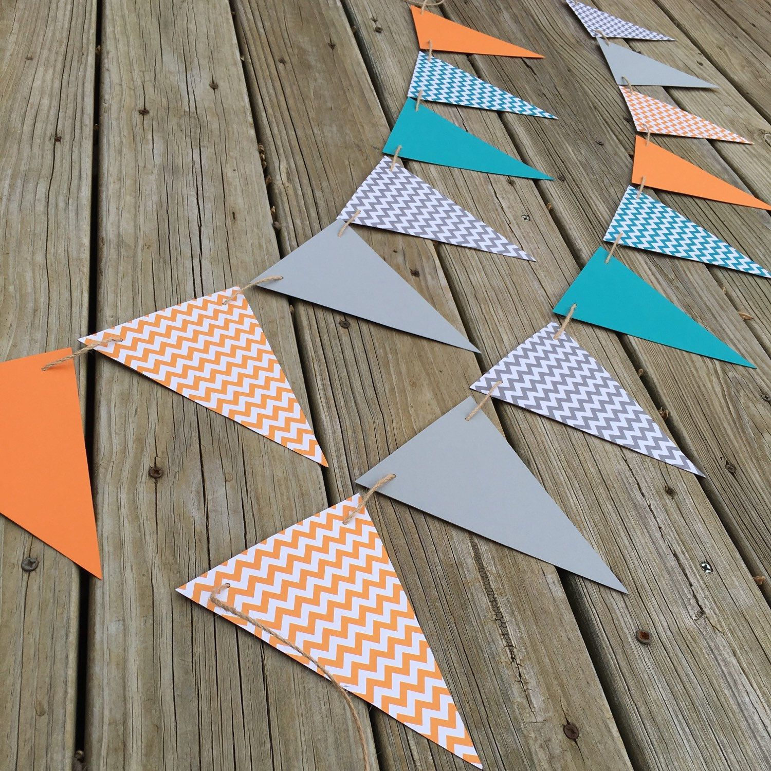 Create Your Own Pennant Garland