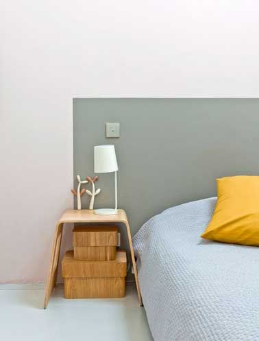 DIY déco  on fait une tête de lit originale ! Bedrooms - peindre un lit en bois