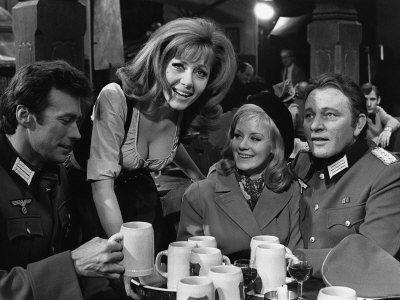 Where Eagles Dare: Clint Eastwood, Richard Burton, Mary Ure and Ingrid Pitt