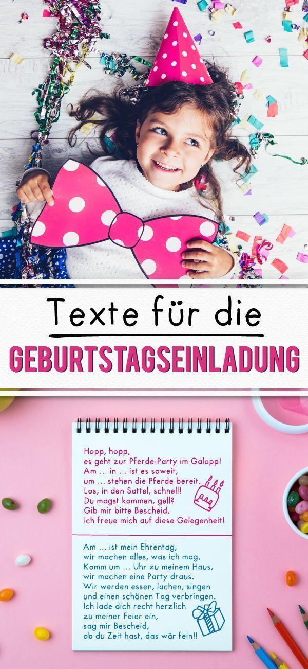Geburtstagseinladung: Text für die Einladungskarte | familie.de