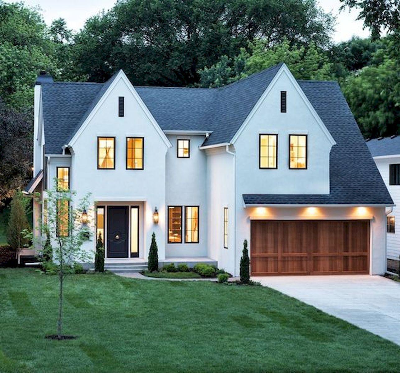 Home Design Ideas 2019: 33 Best Modern Farmhouse Exterior House Plans Design Ideas