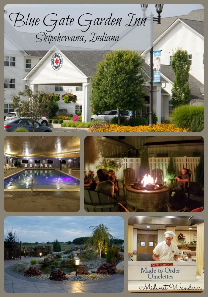 The Blue Gate Garden Inn In Shipshewana, Indiana, Offers Activities And  Rooms To Fit Everyoneu0027s Needs. #Amish #Shipshewana