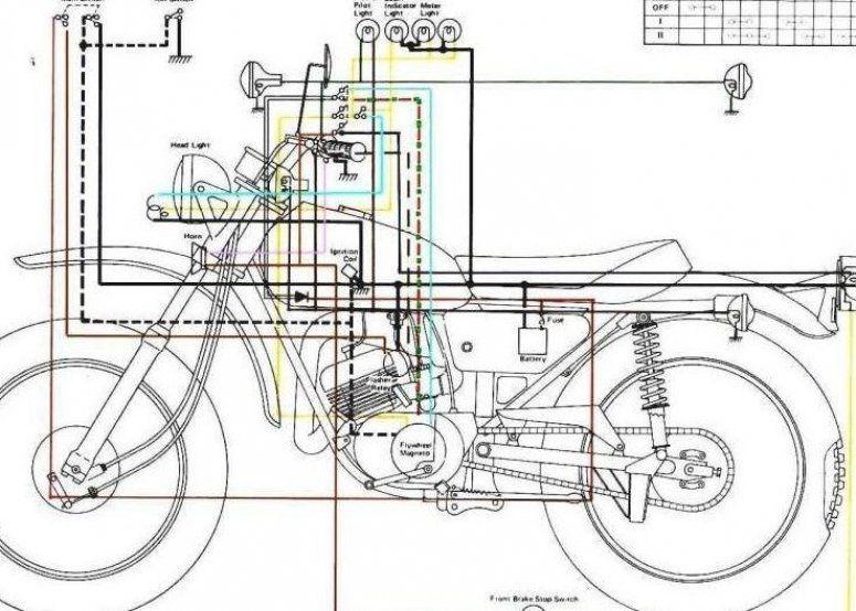 10 Yamaha V50 Motorcycle Wiring Diagram Motorcycle Diagram Yamaha Diagram Motorcycle Wiring