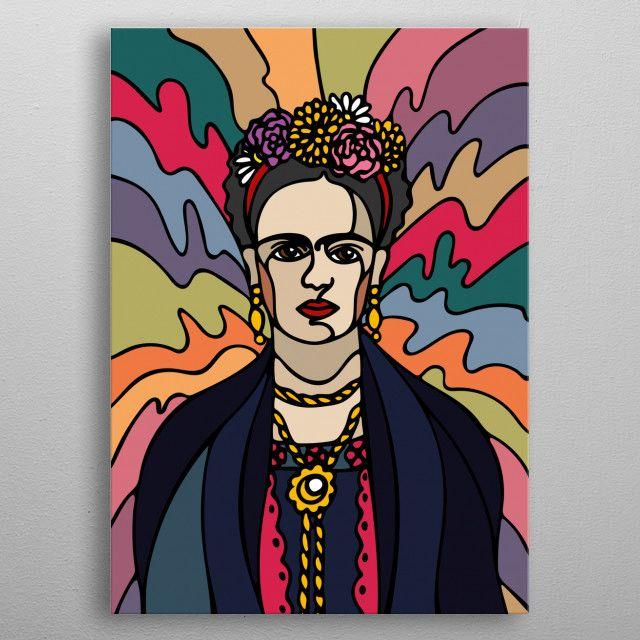 Frida Kahlo   Displate thumbnail