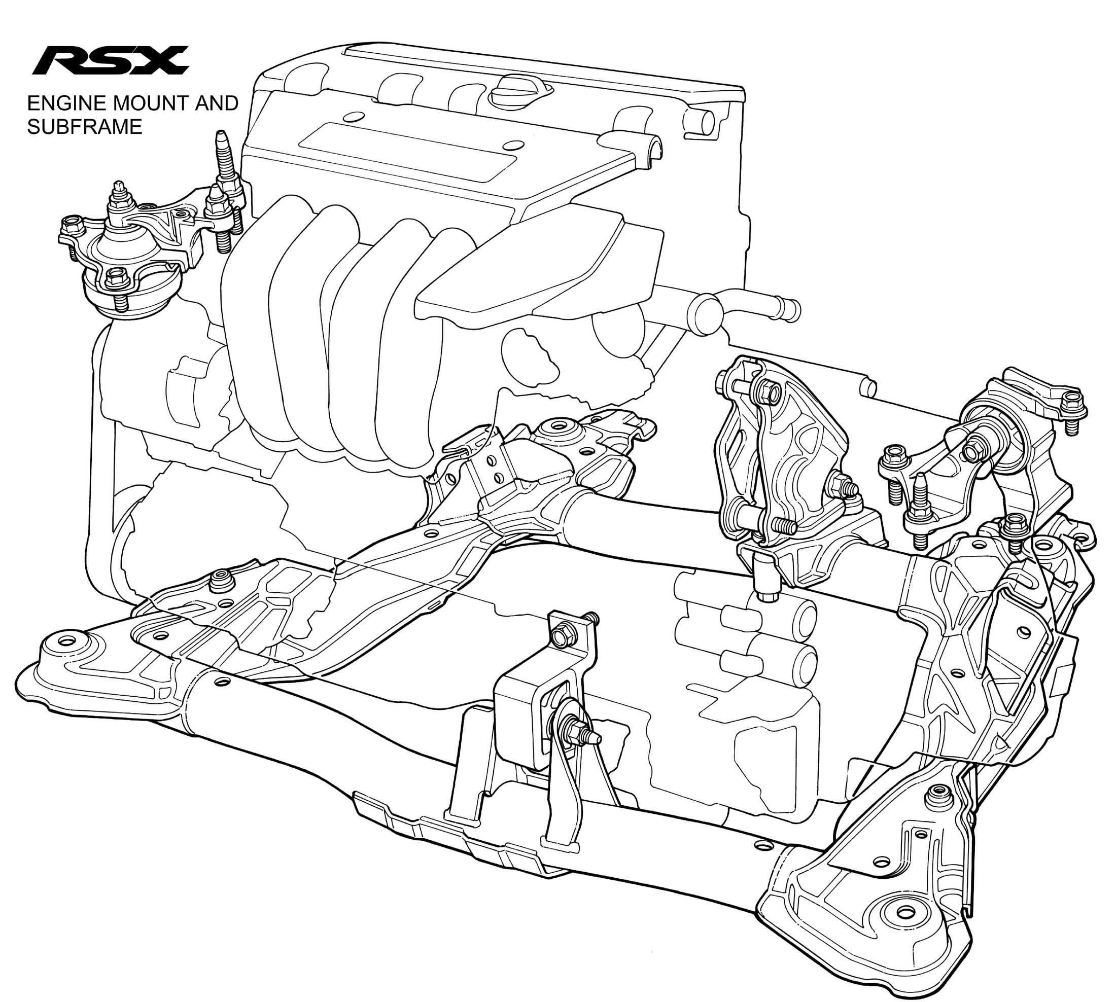 Acura Rsx Engine Cutaway