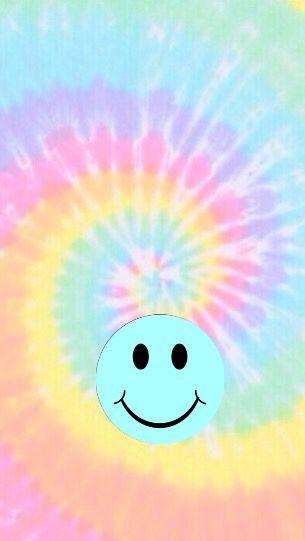 Hippie Smile Face Tumblr Wallpaper Pastel Smiley