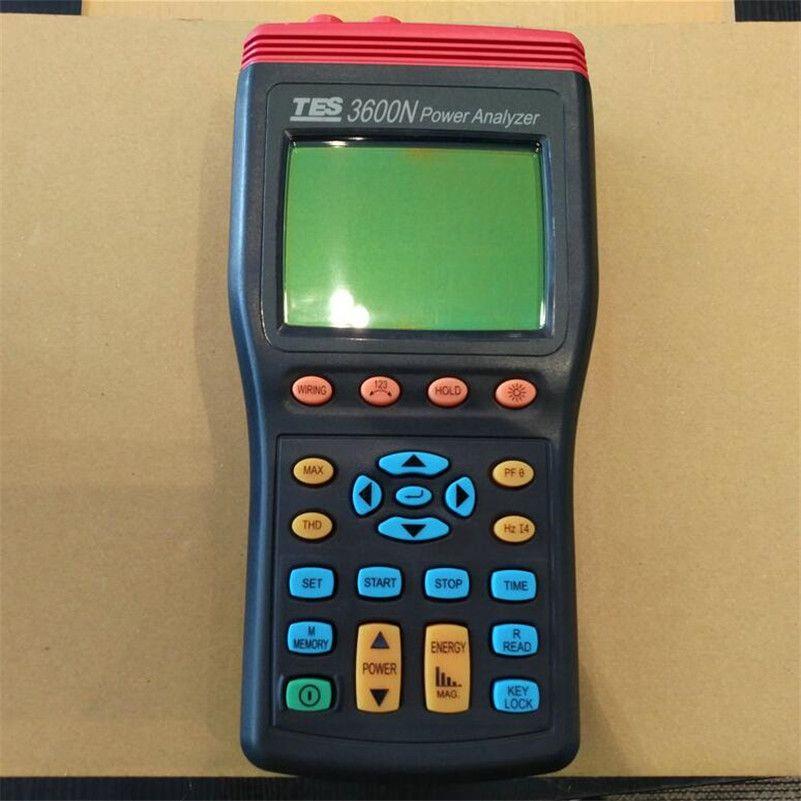 Tes 3600n Power Quality Analyzer Harmonics Power Quality Analyzer 3 Phase Power Analyzer Cheap Energy Graphing Calculator Power