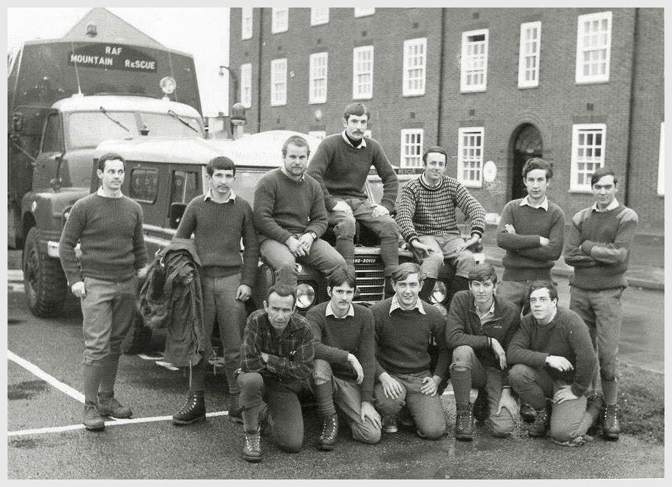 St. Athan MRT circa 1978. rear- Tom Taylor,  Dai Allen, Paul Harryman, Chris Hughes, Eddie Kemp. [trialist?], Brian Hawkes - front- Zak Monsoor, Colin True, James Saville, Clive Cox, Robbie Kenton.