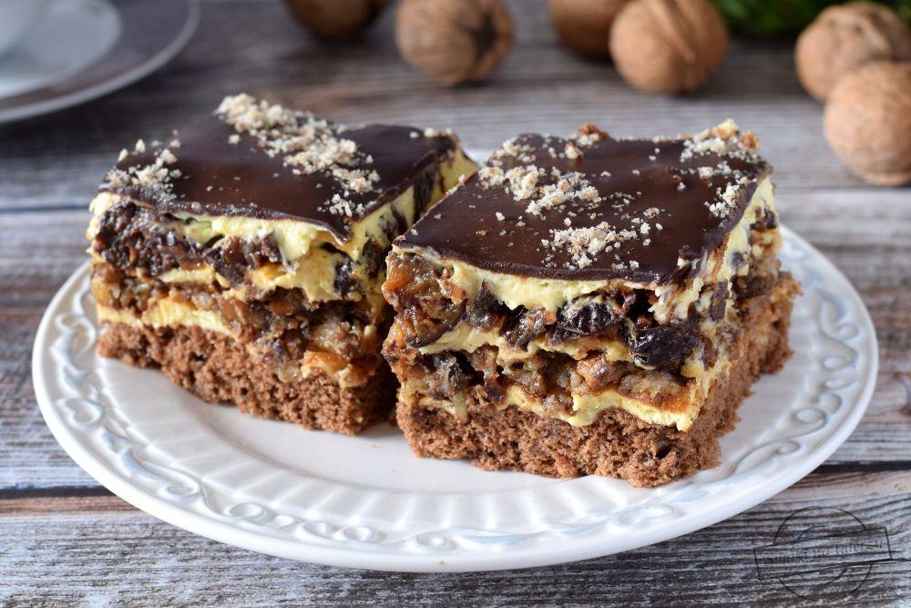 Lacki Przekladaniec Wg Siostry Anastazji Smaki Na Talerzu Dessert Recipes Cake Recipes Desserts