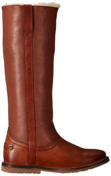 95bd5eee096 FRYE Women s Celia Shearling Tall Winter Boot