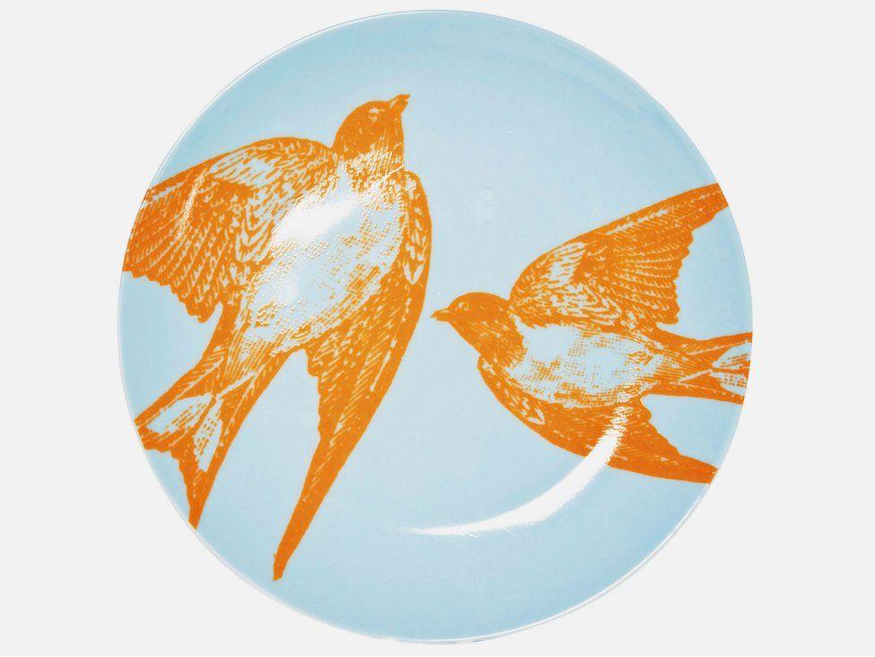 Talerz Deserowy Birds in Love (2/Set) — Talerze Kare Design — sfmeble.pl