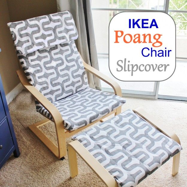 Ikea Poang Chair Covers Uk Kids Sleeper Make A Brand New Slipcover For Your Cover Here S Handy Diy By Stickleberry