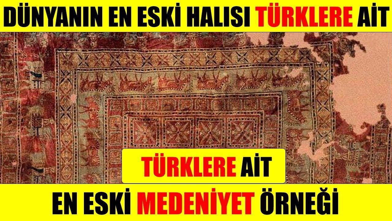 Dünyanın En Eski Halısı TÜRKLERE Ait Çıktı, 2020 Türkler