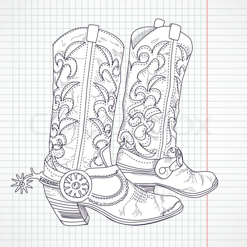 40++ Cowboy hat coloring page ideas