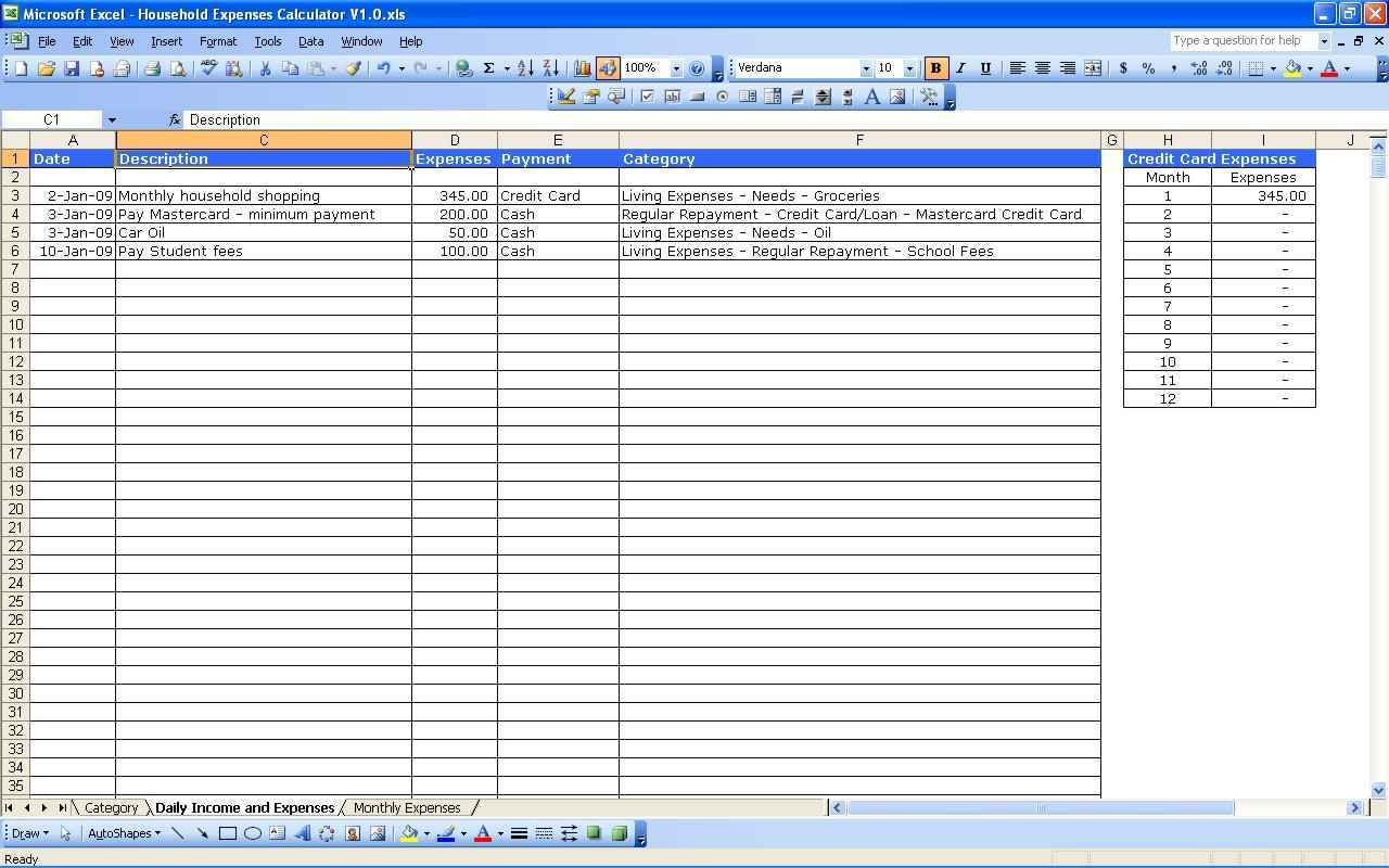 Rental Property Management Spreadsheet Template